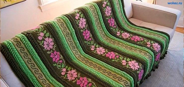 Вязание бисером по-тунисски