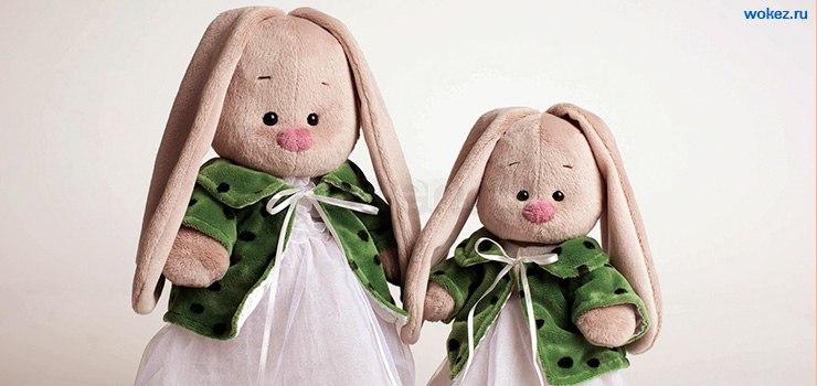 Зайчишка в пальтишке
