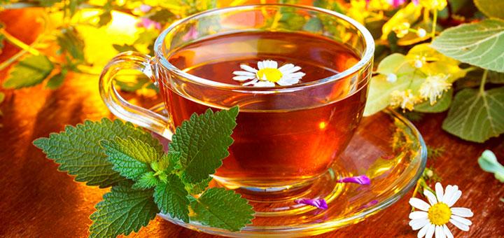 Ароматный чай с мятой